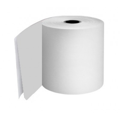 76mm 2 Ply Till Rolls White / White Boxed 20 - TR054